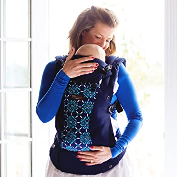 c475cc1e4c5 Amazon.com   LILLEbaby Complete Organic 6-in-1 Baby Carrier - Blue with  Celeste   Baby