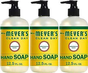 Mrs. Meyer´s Clean Day Hand Soap, Honeysuckle, 12.5 fl oz, 3 ct
