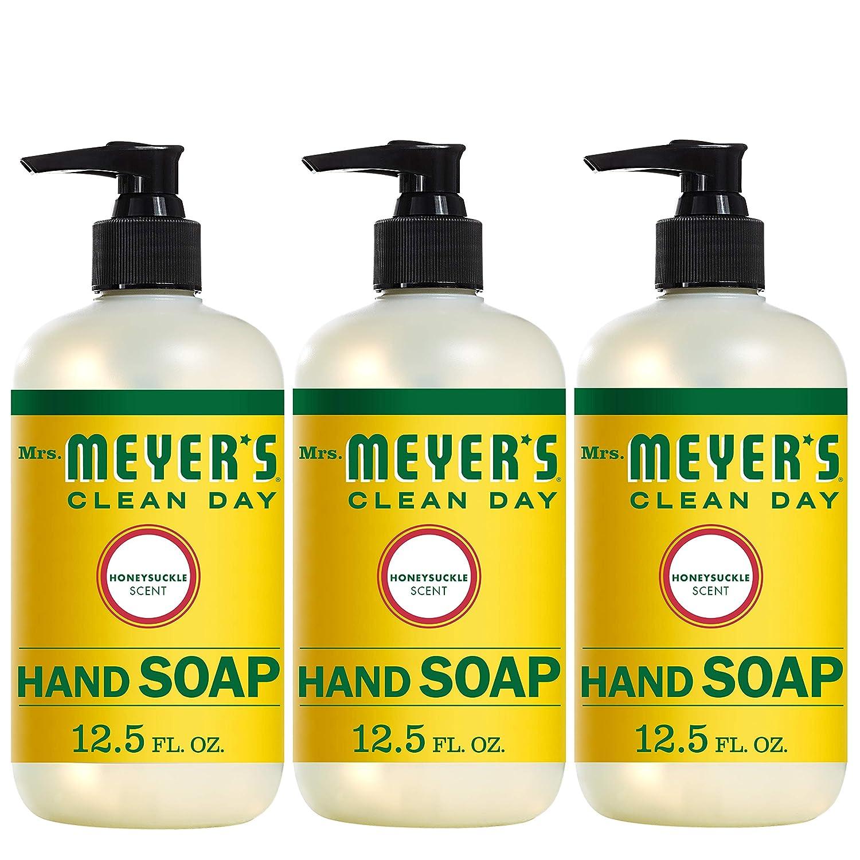Mrs. Meyers Clean Day Hand Soap, Honeysuckle, 12.5 fl oz