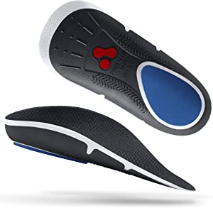 Protalus M75 Max Series– Patented Stress Relief Add-On Premium Shoe Inserts, Increase Comfort, Anti Fatigue, Alignment Improving Shoe Insoles - for Women Size 6.5-7