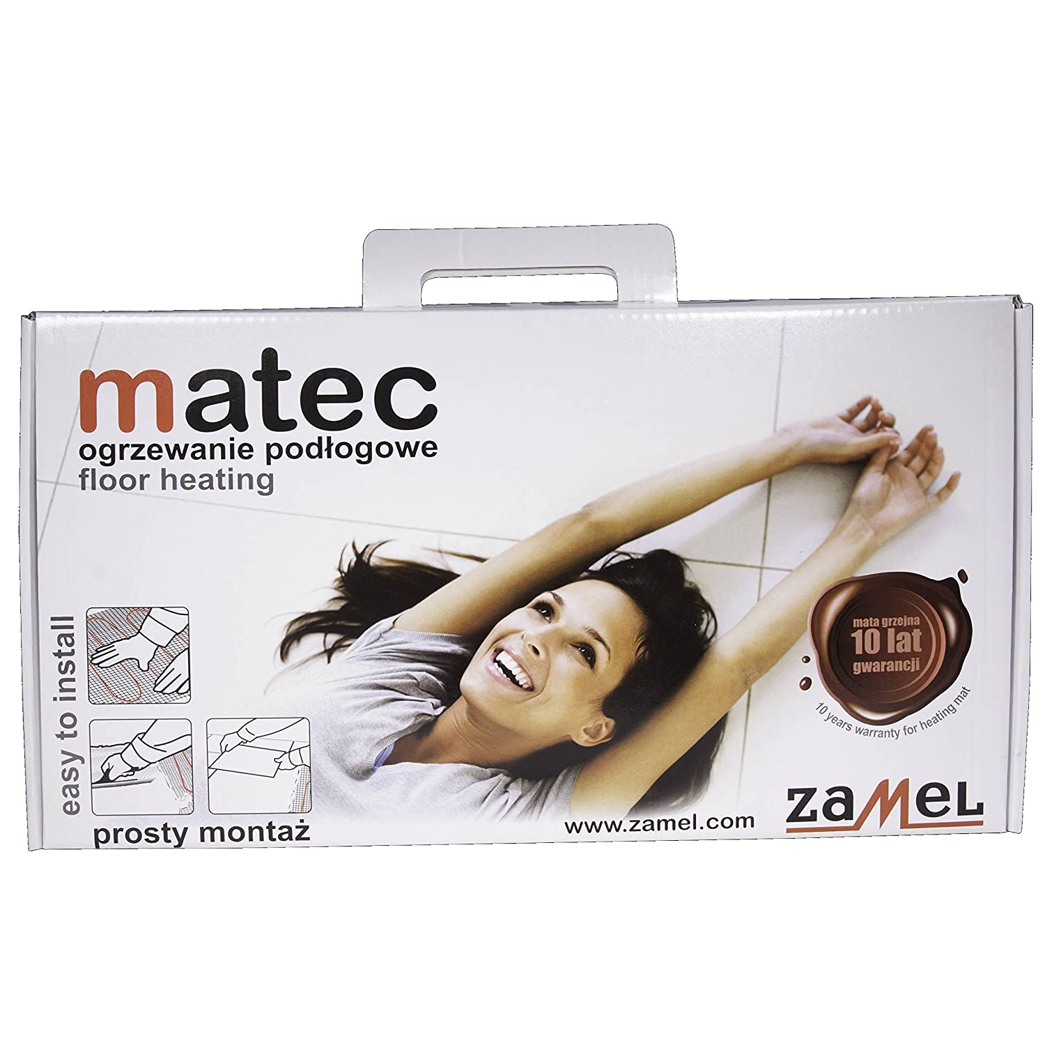 Matec Heating Pad with Single-Sided MAINS CONNECTION moj  –   Pack of 1  –   10 Zamel MOJ- 10