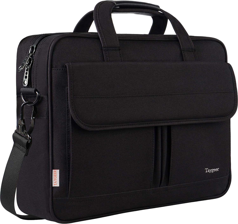 Lightweight 15 inch Laptop Bag Business Messenger Briefcases Watercolor Rose Waterproof Computer Tablet Shoulder Bag Carrying Case Handbag for Men and Women