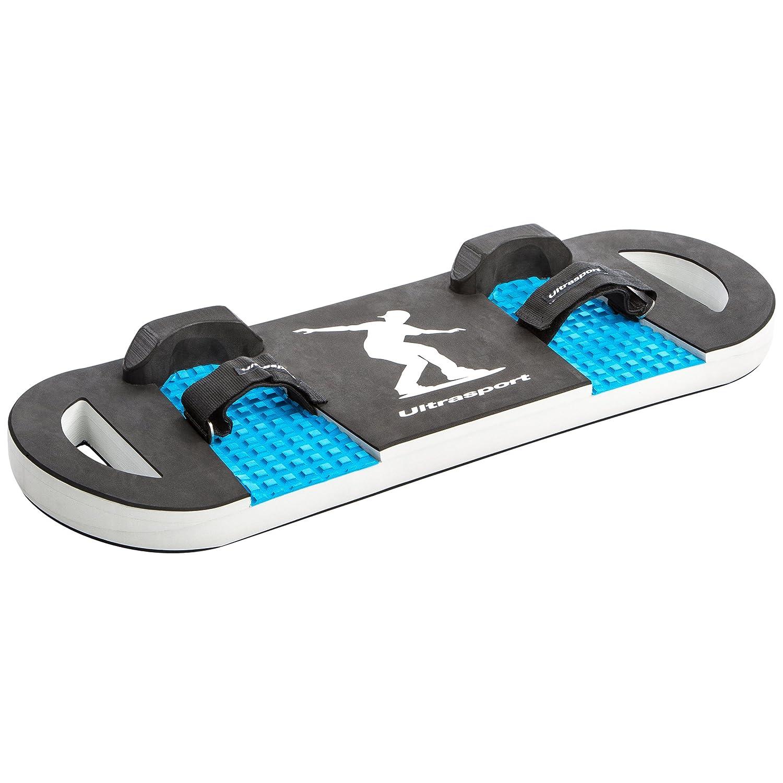 Ultrasport Tabla para cama elástica negro y azul