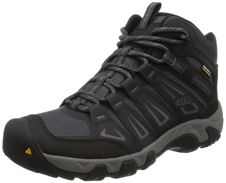 15eb8f40aeb KEEN Men s Oakridge Mid WP Hiking Boots  Amazon.ca  Shoes   Handbags