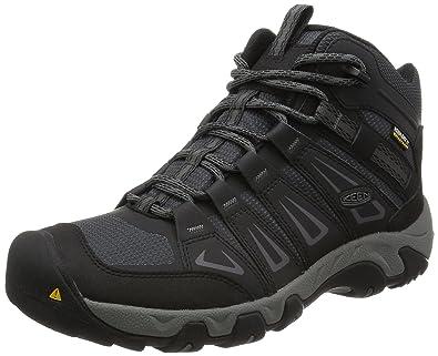 Keen Oakridge Mid WP, Zapatos de High Rise Senderismo para Hombre, Gris (Magnet/Gargoyle), 40 EU