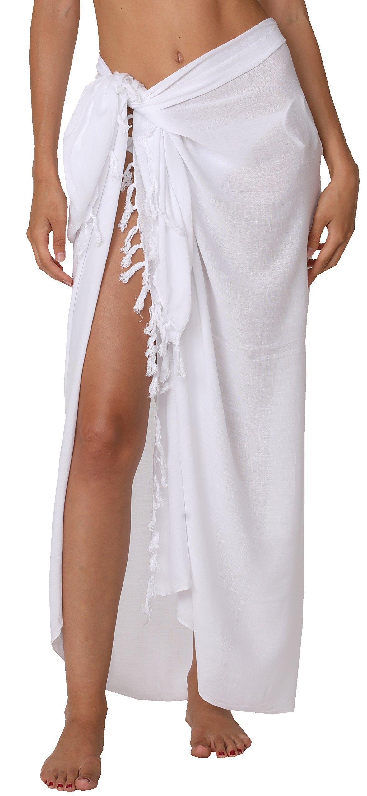 8fdfa80e9dc83 INGEAR Swimwear Long Batik Sarong Multi Wear Pareo Canga Swimsuit Wrap Cover  Up (One Size