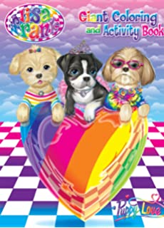 lisa frank coloring pages 2. Lisa Frank Coloring  Activity Book Puppy Love Amazon com And Set 2 Books