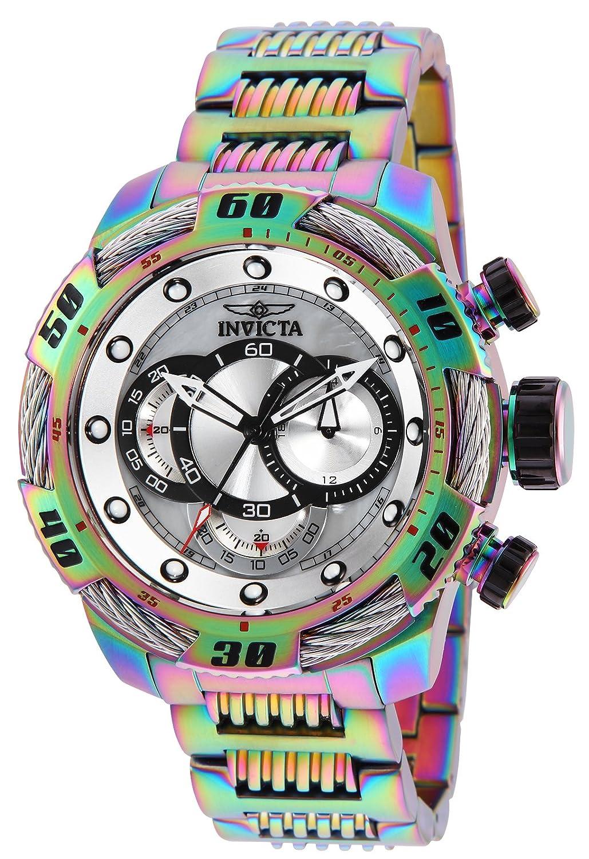 Guess Vertigo Black Dial Leather Strap Men s Watch W0658G7