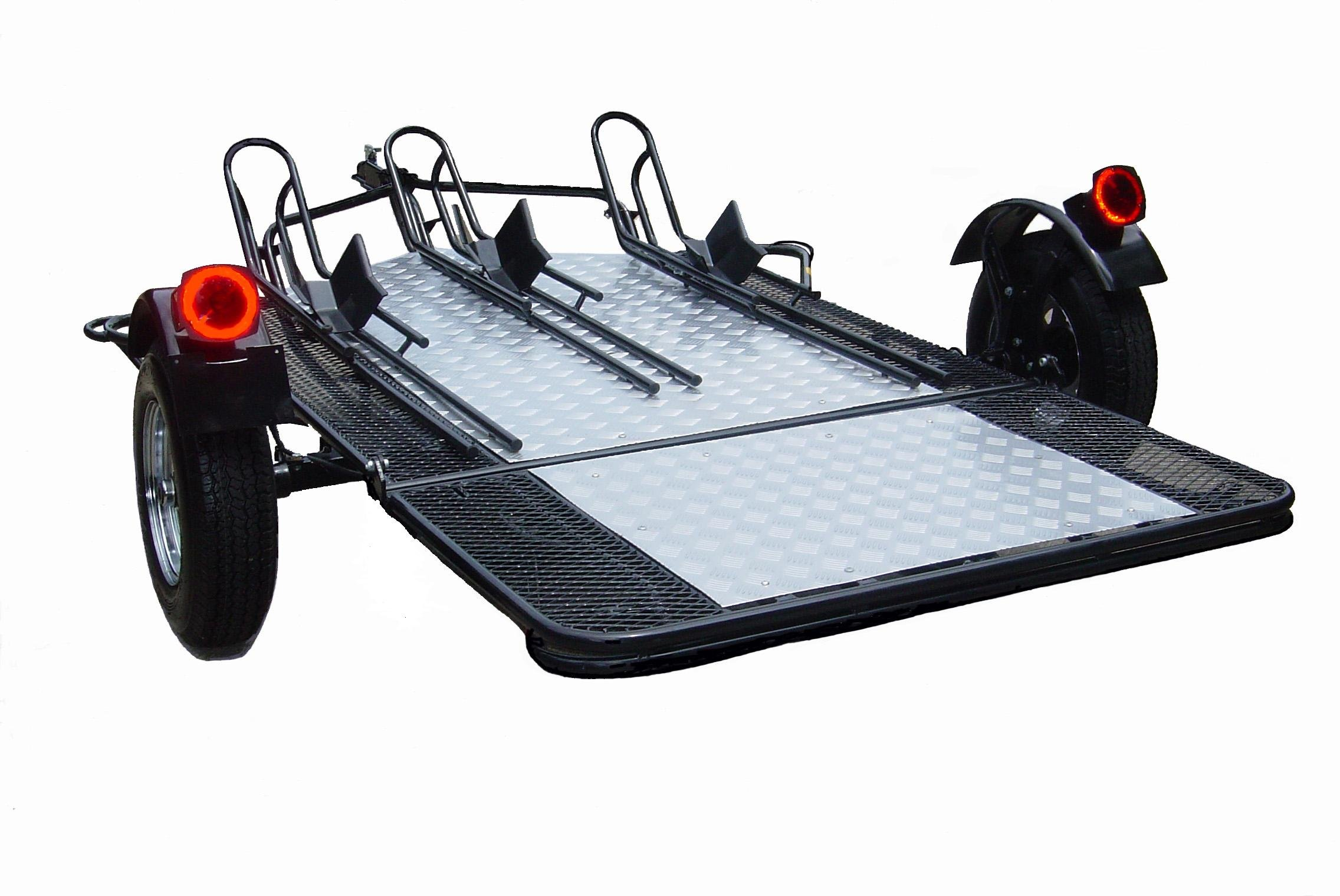 Trinity MT3 - A 3 Rail Motorcycle Trailer - Your order will be delivered to the nearest terminal location.