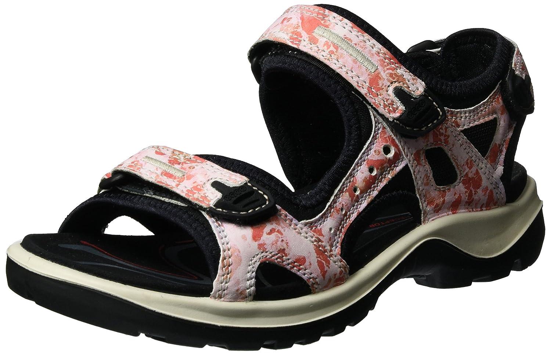 ECCO Women's Yucatan Sandal B01KINVUHK 38 EU/7-7.5 M US|Coral Blush