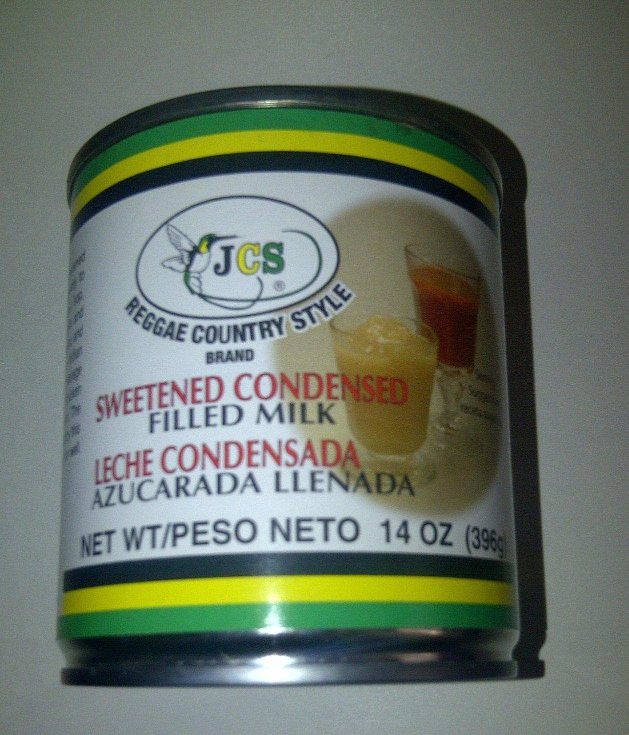 Amazon.com : JCS Sweetened Consensed Filled Milk 14 Oz(leche ...
