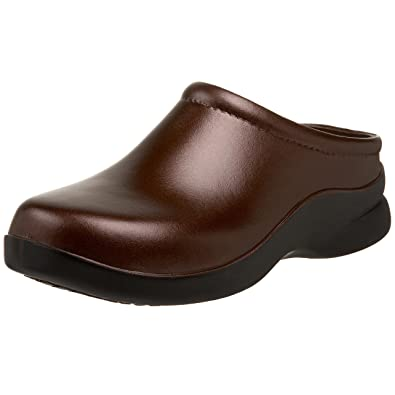 Klogs USA Women's Dusty Open Back Clog,Chestnut,6 ...