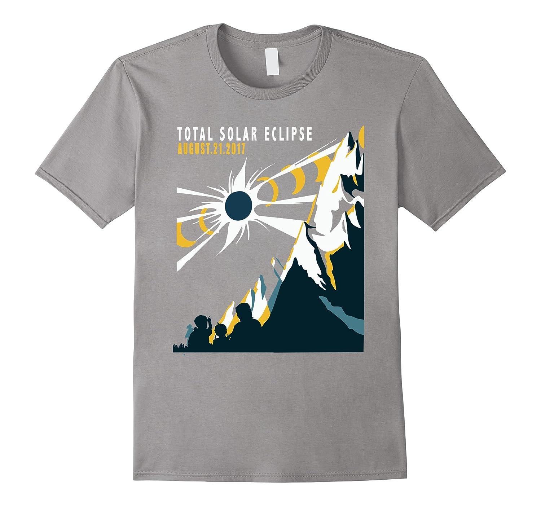 Vintage Total Solar Eclipse Summer August 21st 2017 T Shirt-Art