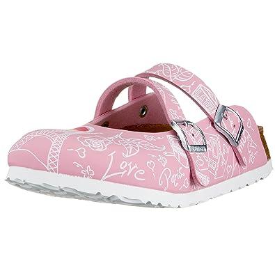 21c46c20358e Birki s Women s Dorian Clogs   Mules Pink 26 Schmal  Amazon.co.uk ...