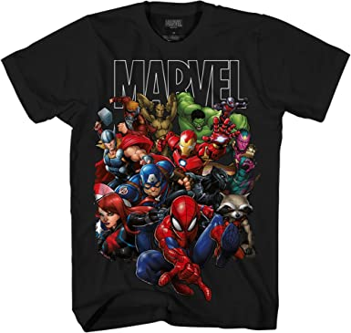 Avengers Official Marvel Captain America 86 Boys Kids T-Shirt