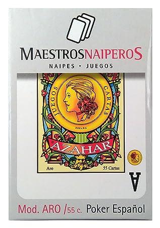 Amazon.com: Teachers naiperos – naipe Poker Spanish 55 Cards ...