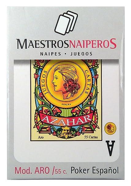 Maestros Naiperos- baraja Poker, española, 55, Cartas ...
