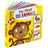 My First 101 ANIMALS Board Book (PADDED!)