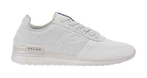 Kelme Yosemitsu, Zapatillas para Hombre, Blanco (White), 39 EU