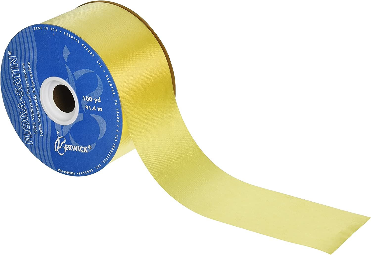 3 ROLLS BEST QUALITY FLORIST POLY RIBBON CHOOSE YOUR COLOURS