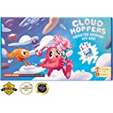 CLOUD HOPPER Addition and Subtraction board game STEM toy Maths resource and Alien game for kids