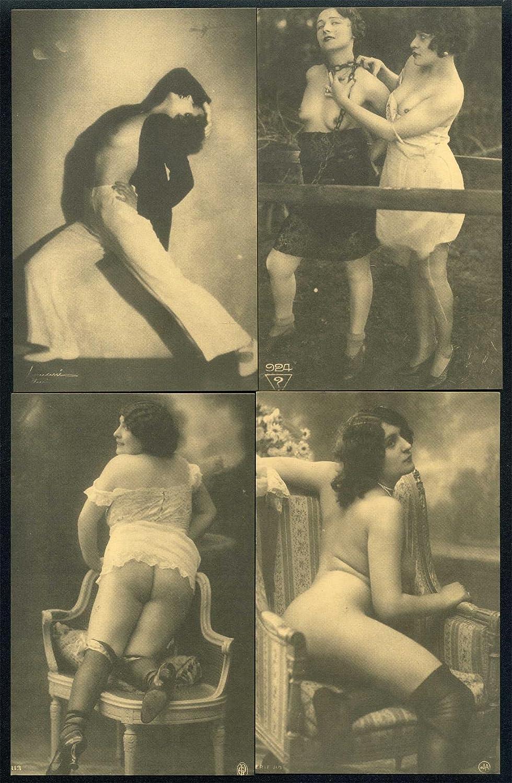 Old Erotic Postcards