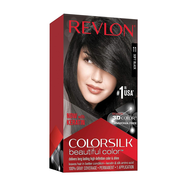 Revlon Colorsilk 11 Negro Suave Tinte - 1 Unidad