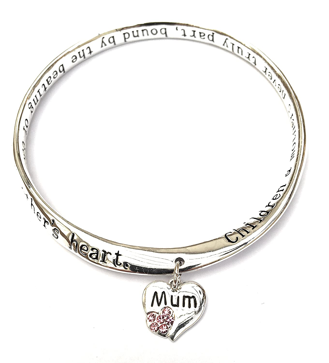 Equilibrium Bangle - There's No Better Friend Than My Nan - Silver Plated by Joe Davies uEOfiZCI
