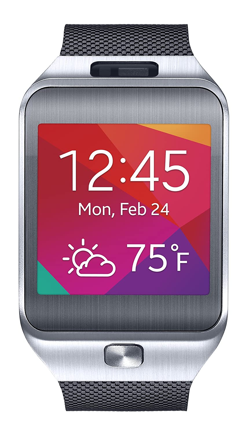 Samsung Gear 2 Smartwatch - Silver/Black (US Warranty) (Discontinued by Manufacturer)