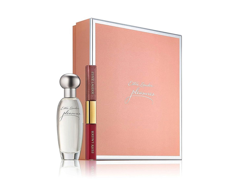 Estée Lauder Pleasures 30 ml Eau De Parfum + Lipgloss Geschenk Set ...
