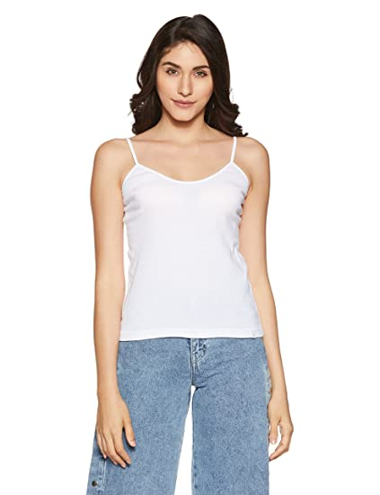 Jockey Women's Cotton Spaghetti Top Women's Camisoles at amazon