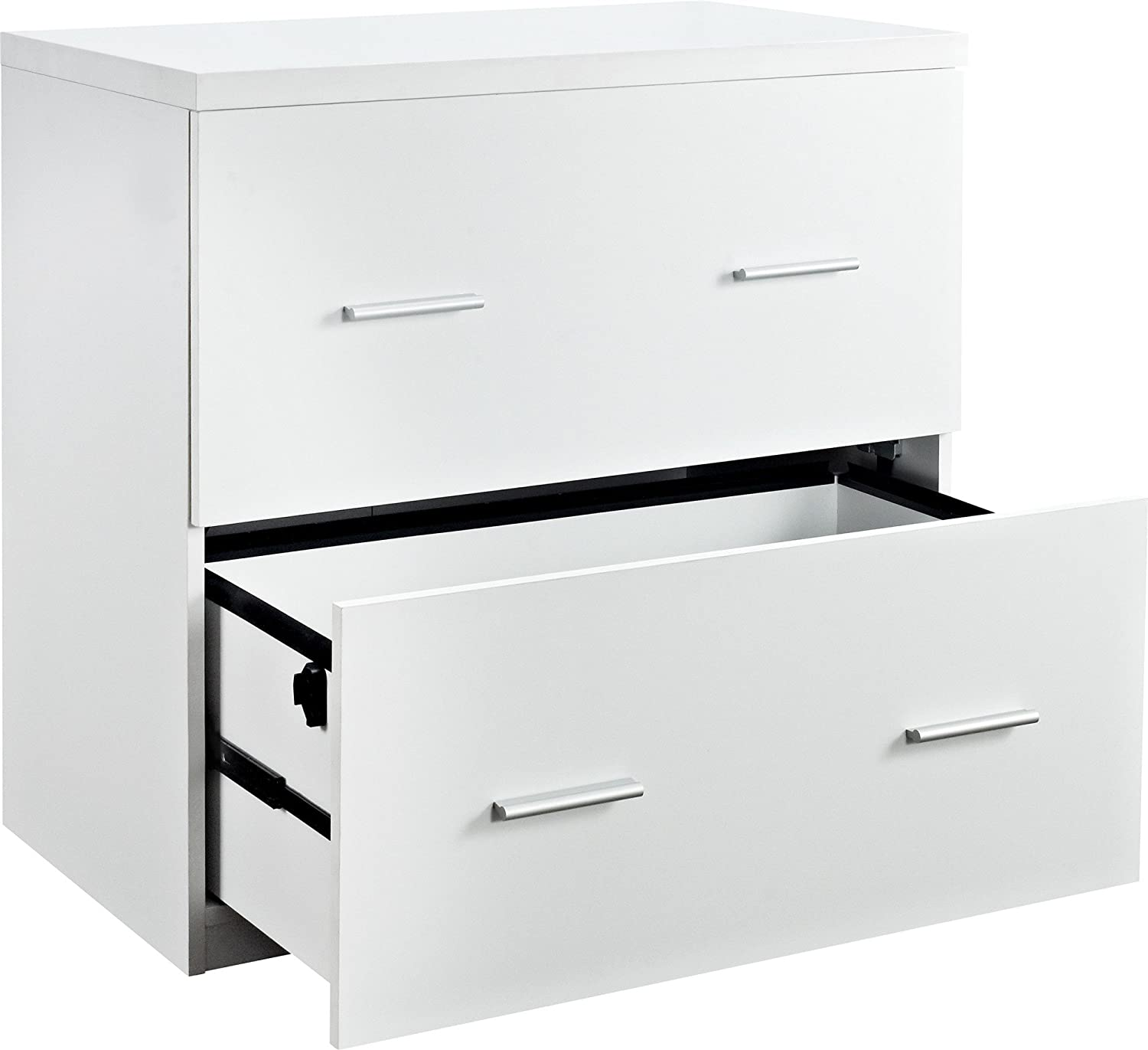 Delicieux Amazon.com: Ameriwood Home Princeton Lateral File Cabinet, White: Kitchen U0026  Dining