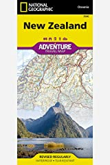 New Zealand (National Geographic Adventure Map) Map