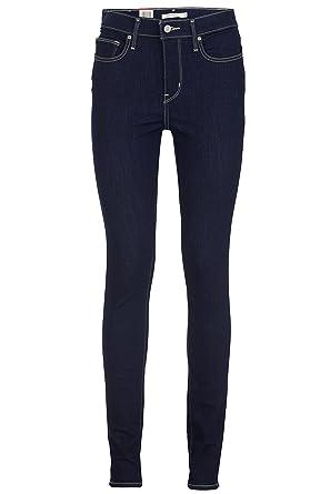 e9952d17346cbe Levi's Skinny Jeans Slimming Skinny 0000 Scenic Drive, Color: Dark Blue,  Size: