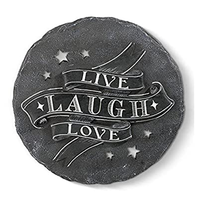 "Grasslands Road ""Live Laugh Love… Stepping Stone : Garden & Outdoor"