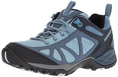fac72fdfe6e2 Merrell Women s Siren Sport Q2 Hiking Boot Blue 5 Medium US