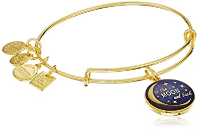 """9608cd7e9 Alex and Ani """"Charity By Design"""" Stellar Love Expandable Gold  Wire Bangle Charm"""