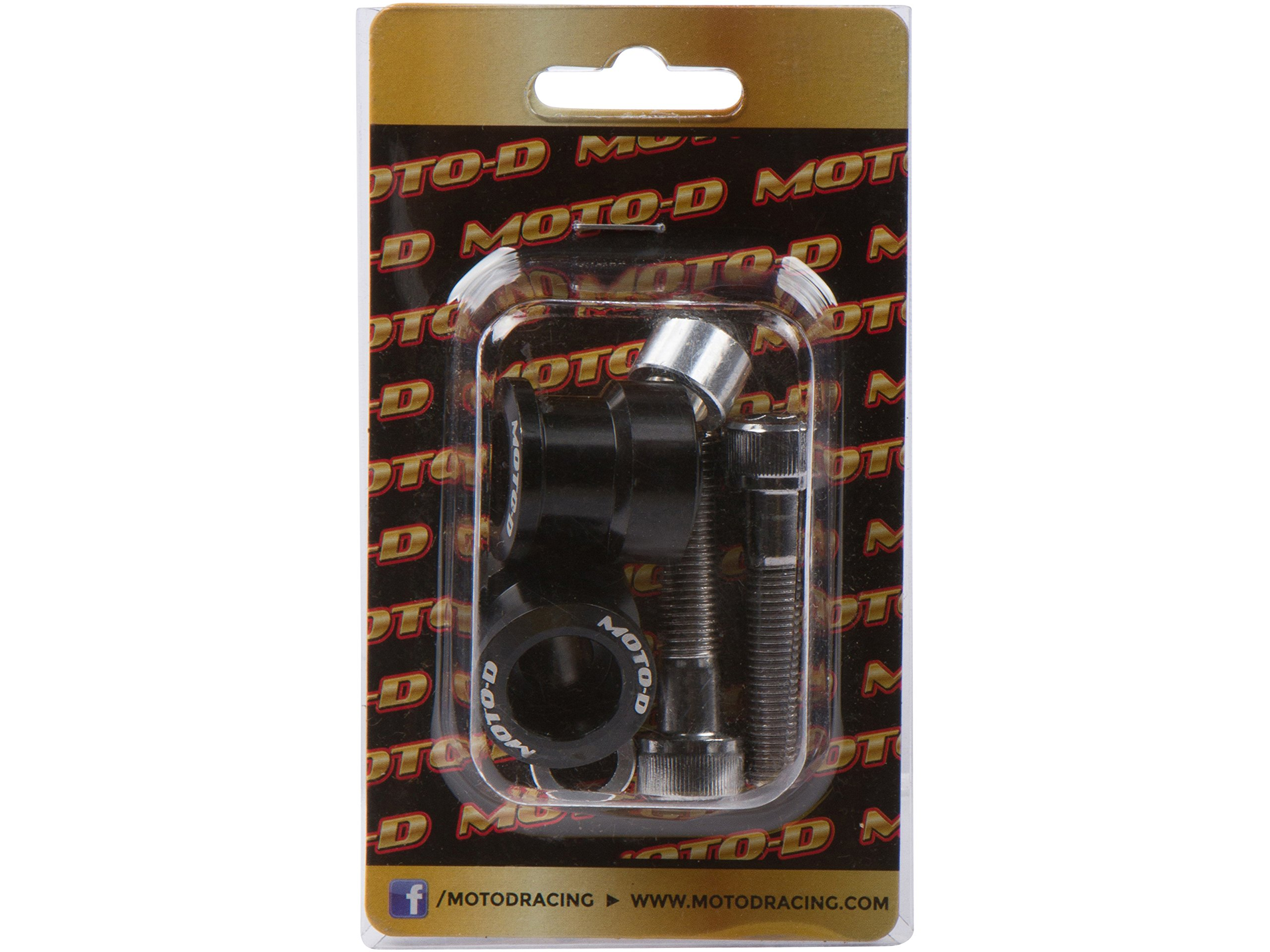 MOTO-D 8MM Swingarm Spools Black