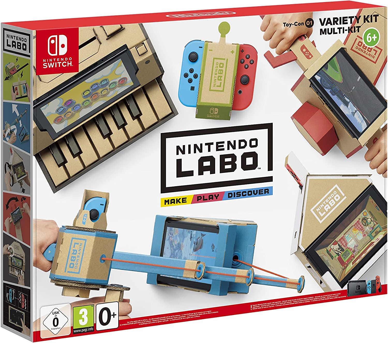 Nintendo Labo: Toy-Con 01 - Kit Assortito - Nintendo Switch [Importación italiana]