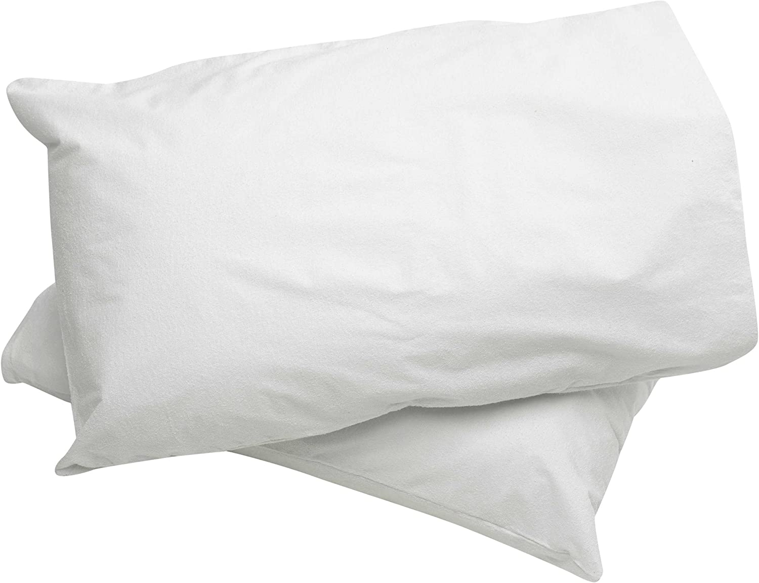Sleep Safe Pair of Waterproof Terry Towelling Pillowcase Protectors 20