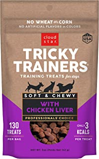 product image for Cloud Star Tricky Trainers Chewy - Soft Low Calorie Dog Training Treats