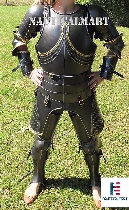 Amazon.com: Nauticalart - Disfraz de guerrero medieval para ...