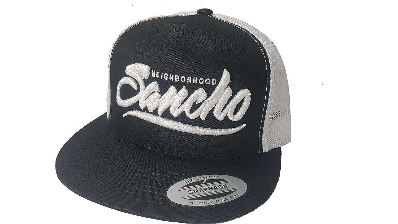 2f87d4139 Amazon.com: Yupoong 3D Puff Chingo Bling Neighborhood Sancho Hat Cap  Snapback Adjustable Adult Unisex: Clothing