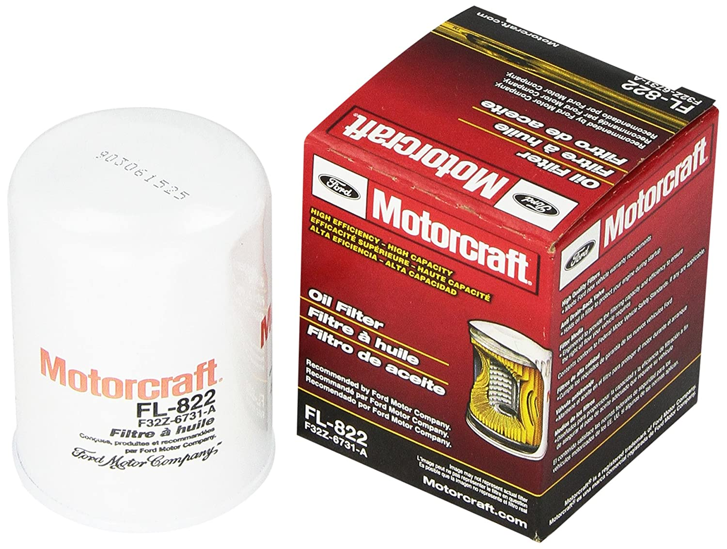 Motorcraft FL822 Oil Filter