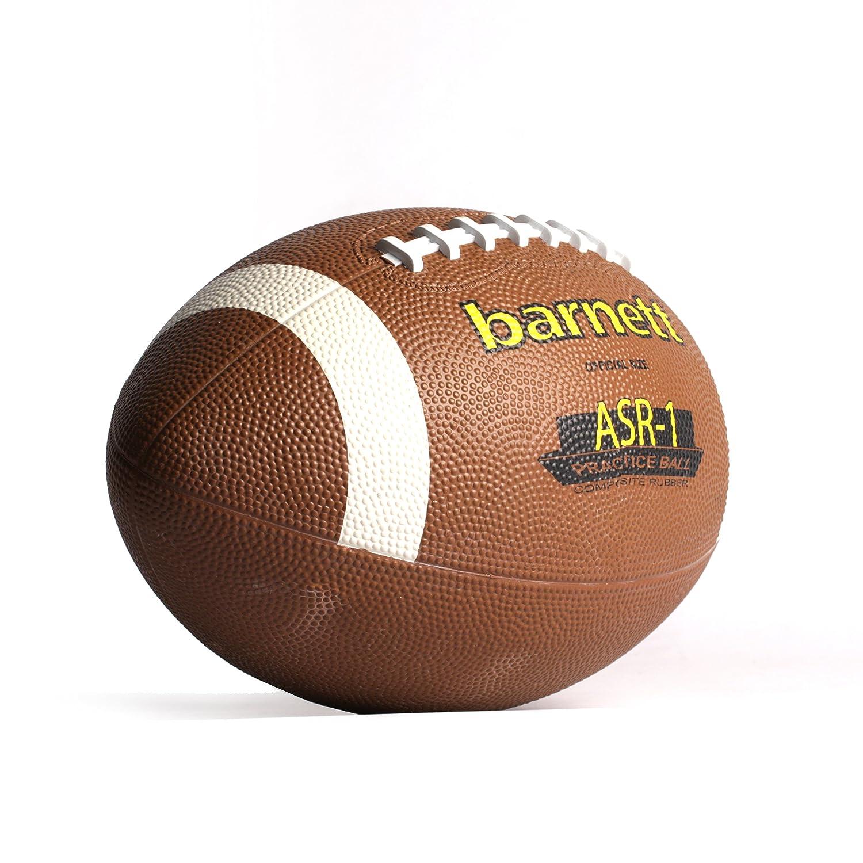 c marrone t senior barnett ASR-1 pallone da football americano vinile resistente poliuretano