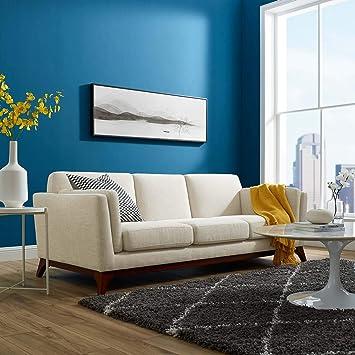 Amazon.com: Modway EEI-3062-BEI Chance - Sofá tapizado de ...