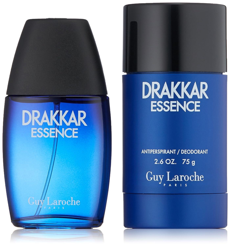 Guy Laroche Drakkar Essence for Men 2 Pc. Gift Set (Eau De Toilette Spray 3.4-Ounce and 1.0-Ounce) DRE13M