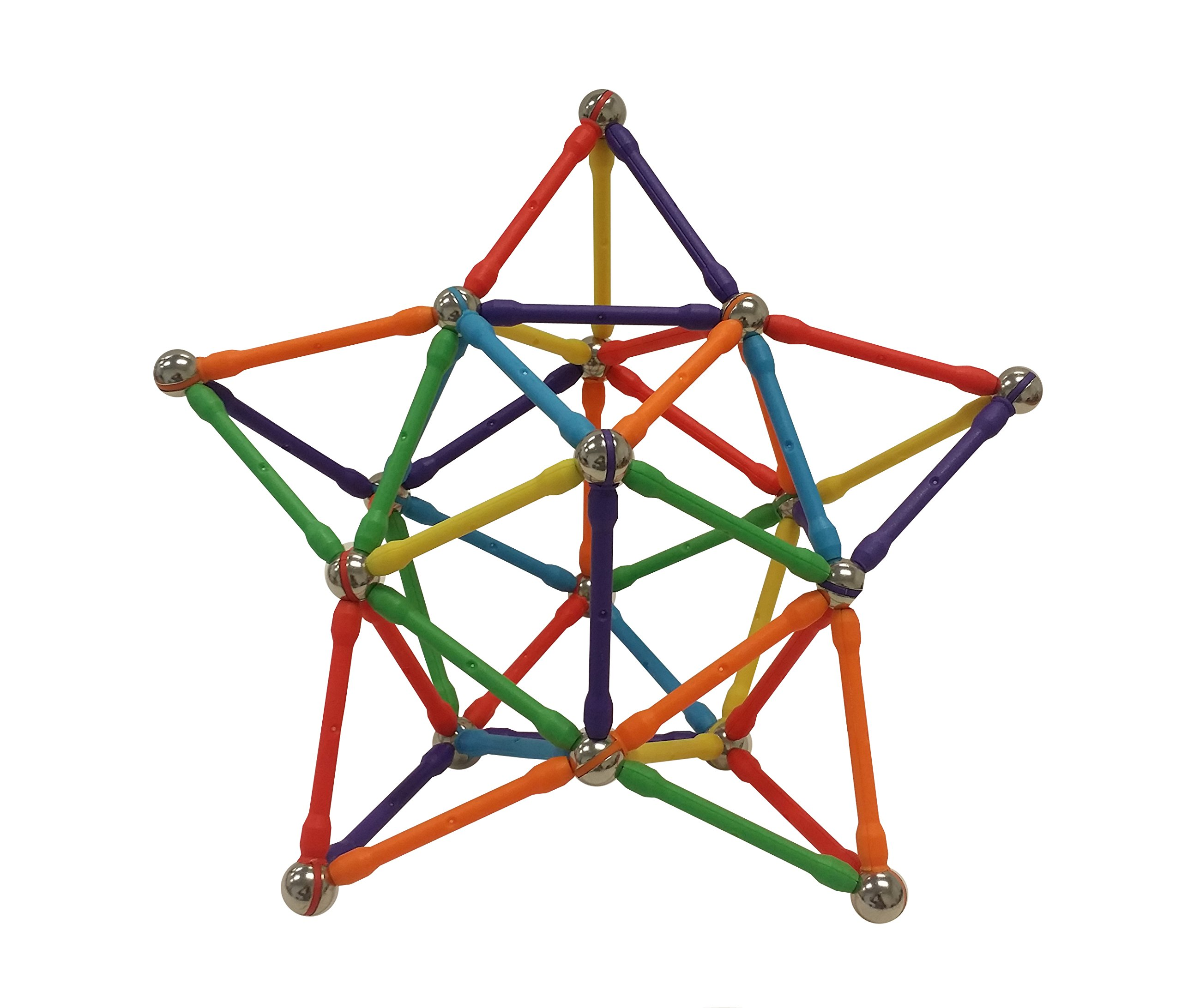 Magziod 96 Magnetic Building Set With No Loose Balls! Offered Exclusively By .. 12
