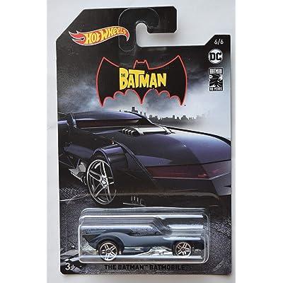 DieCast HOT Wheels 1:64 Scale The Batman Batmobile 6/6 80TH Years: Toys & Games