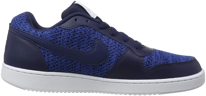 promo code a166f 18a46 Nike Nike Ebernon Low Prem, Chaussures de Basketball homme - Bleu (Gym Blue Midnight  Navy White 440), 39 EU  Amazon.fr  Chaussures et Sacs